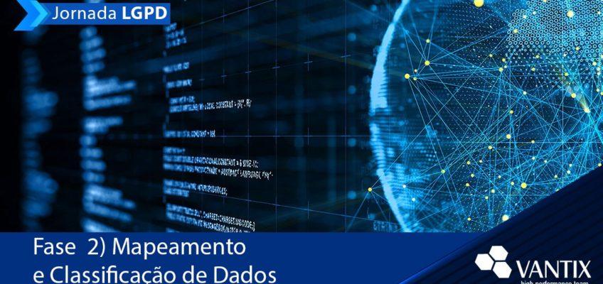Jornada LGPD Fase 2: Mapeamento de Dados Pessoais
