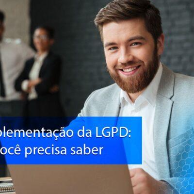Plano de implementação da LGPD