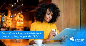 quais são e como cumprir os 10 princípios da LGPD?