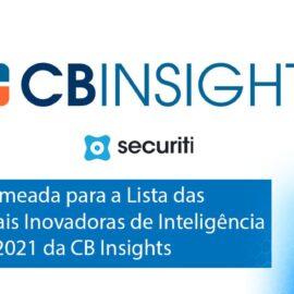 Plataforma SECURITI se destacou pelo crescimento exponencial e uso de IA para proteção de dados.