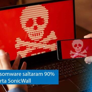 Ataques de ransomware saltaram 90% em um ano, alerta SonicWall